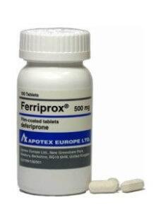 Ferriprox-deferiprone