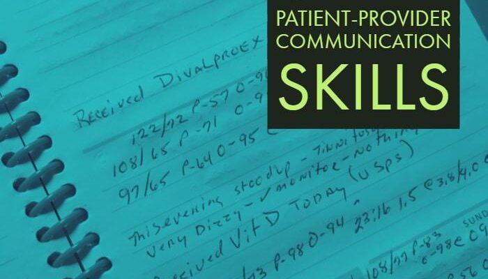 Patient Provider Communication