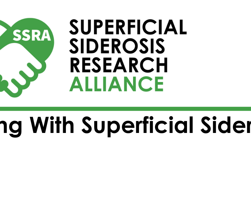 What is Superficial Siderosis