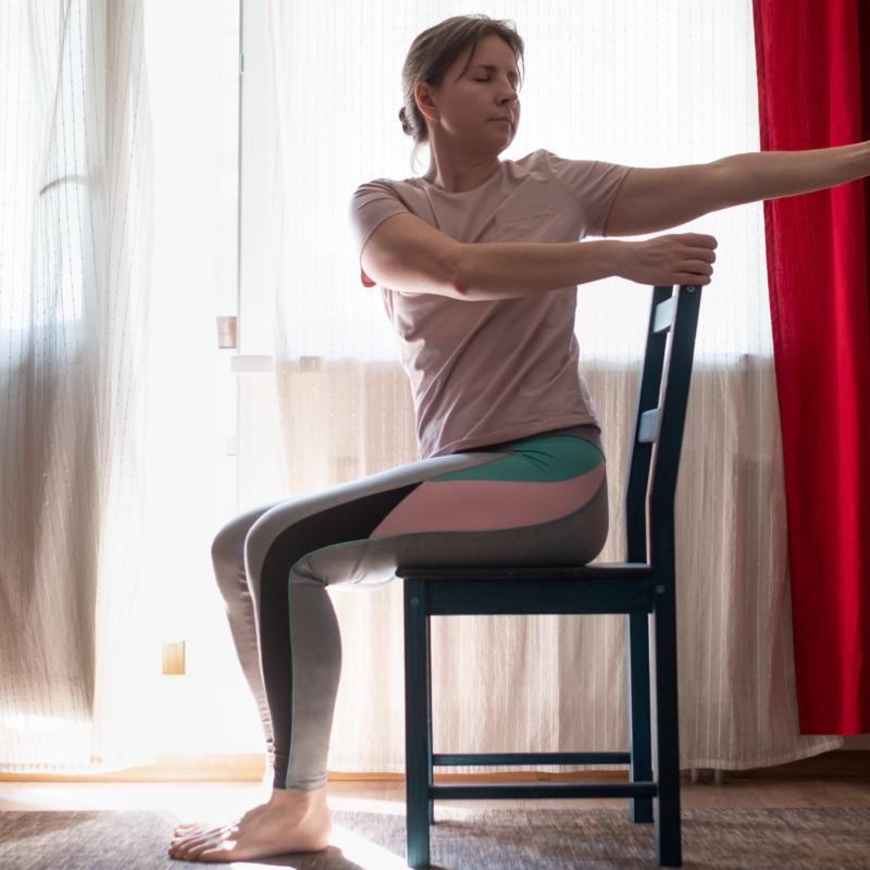 chair yoga,mobility and balance
