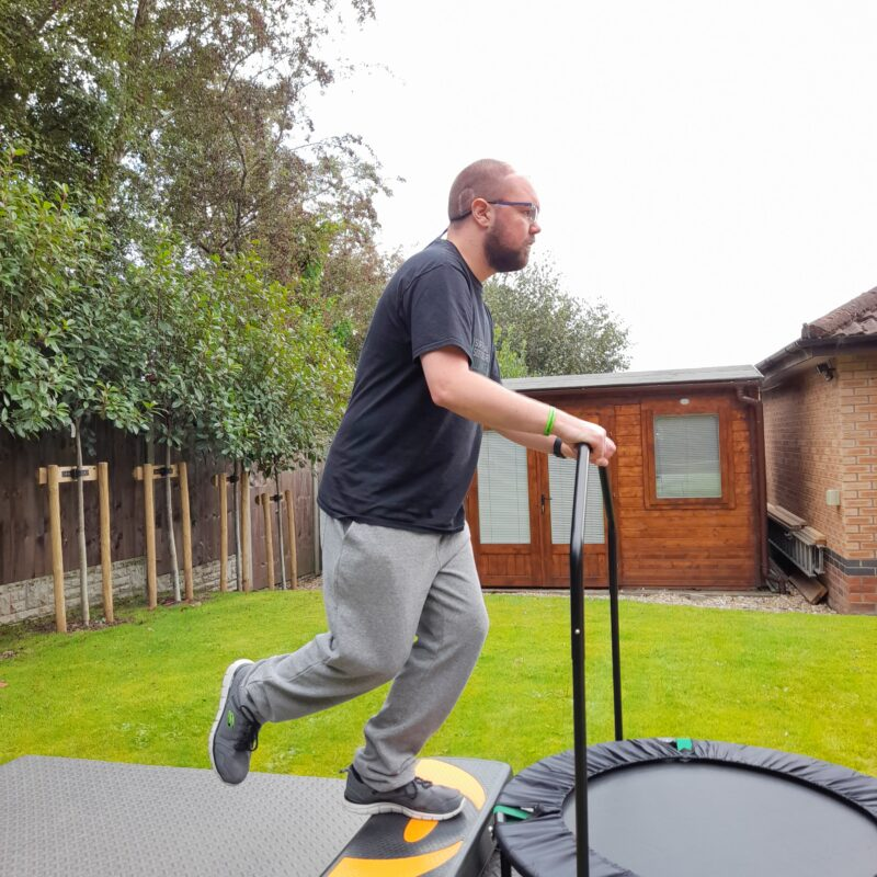 back step exercise for balance