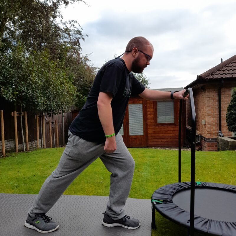 calf stretch exercise for balance